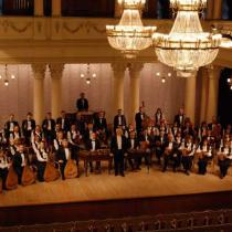 Наш оркестр у філармонії
